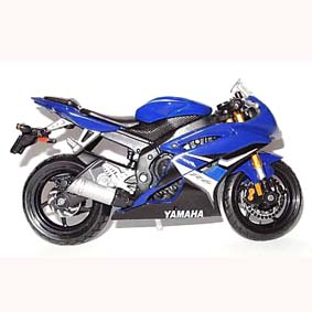 Yamaha YZF R6 moto Maisto escala 1/18