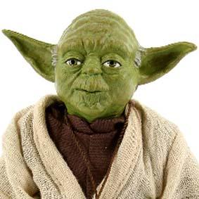 Yoda Jedi Mentor marca Sideshow bonecos escala 1/6 ( RARIDADE )
